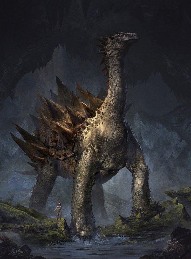 фото земляного дракона команды