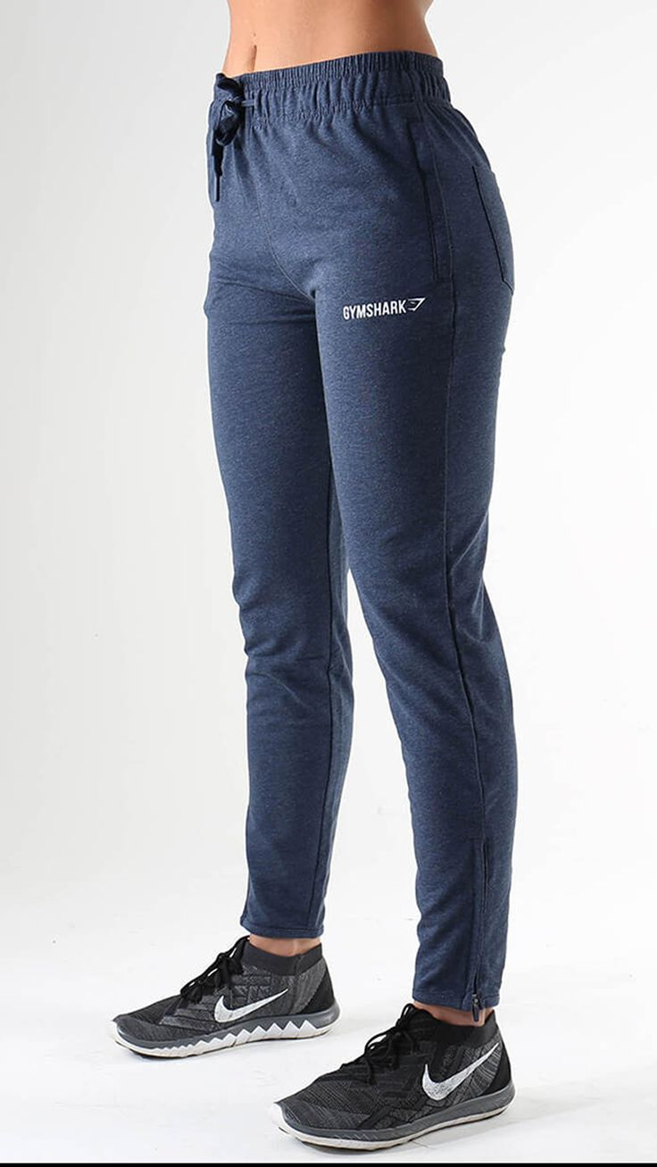 The Gymshark Women's Fit bottoms are  luxuriously comfortable and athletically essential. Tailored for a high waisted and figure hugging fit, with fleece lining and stretchy material blend for comfortable coverage. Fit Bottoms in Sapphire Blue launch 25th December