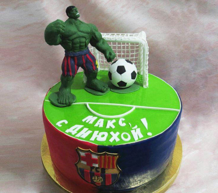 Детский торт на заказ. Торт Халк