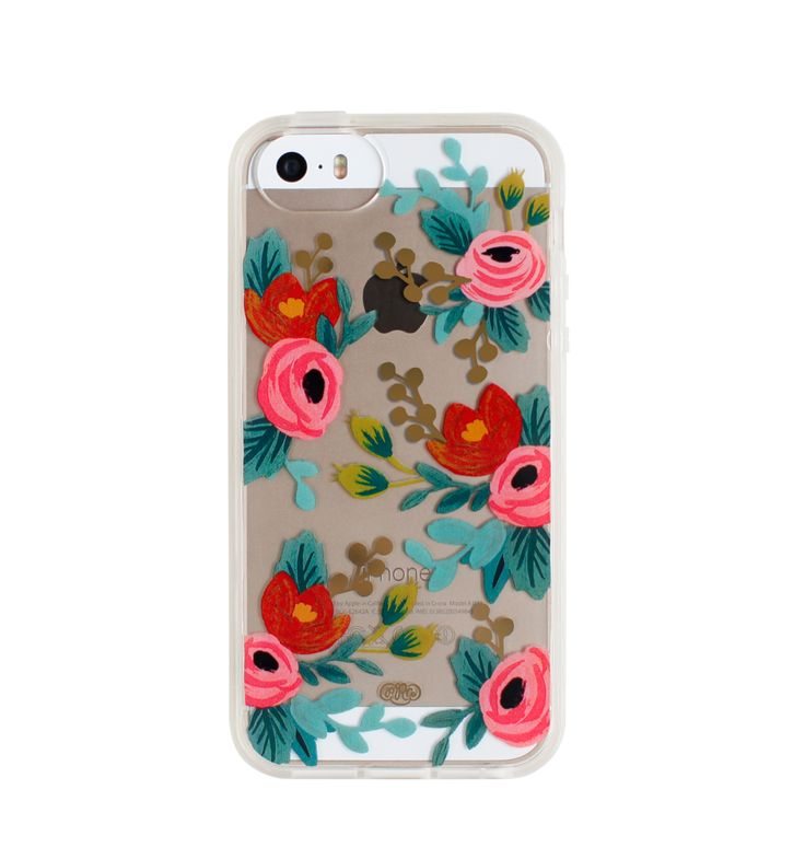 clear floral case from Rifle Paper Co. {great gift idea}