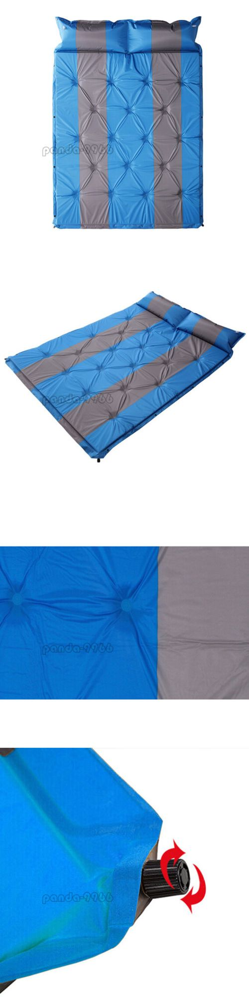 Mattresses and Pads 36114: Double 2 Person Self-Inflating Air Mattress  Sleeping Pad Outdoor