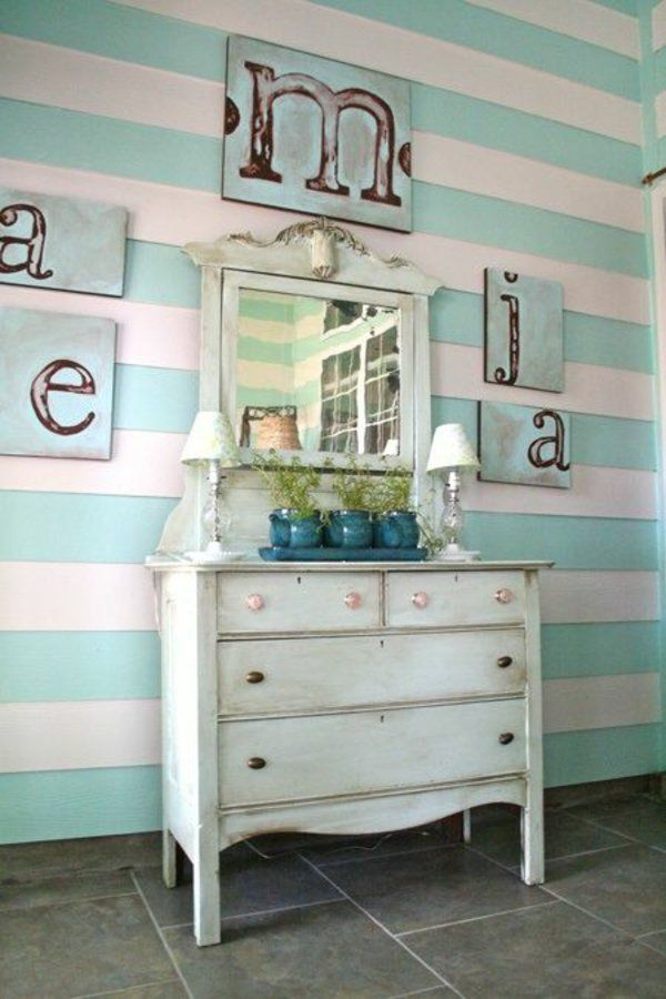 die besten 17 ideen zu wandgestaltung streifen auf pinterest wand streichen streifen graue. Black Bedroom Furniture Sets. Home Design Ideas