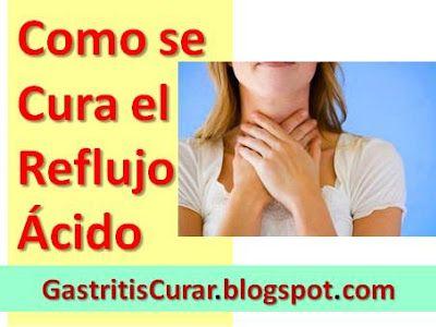 Como se Cura el Reflujo Ácido: Esofagitis por Reflujo Tratamiento Natural con Remedios caseros naturales.