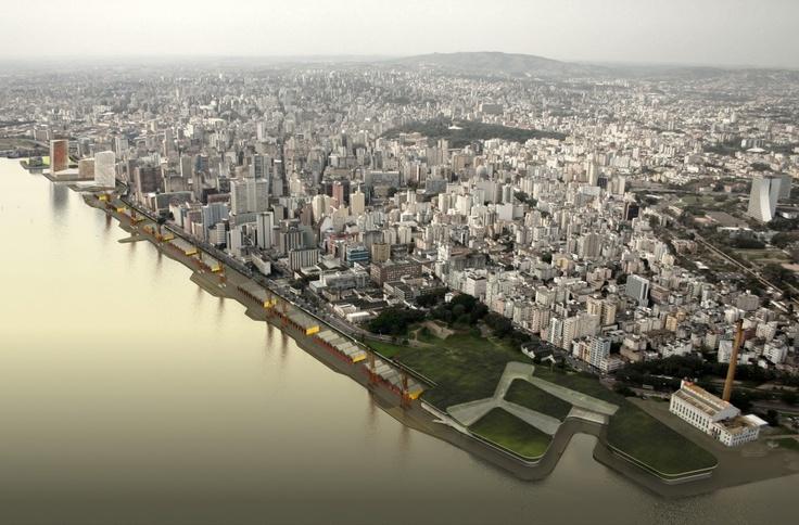 « Volver a b720 proyectará el nuevo frente portuario de Porto Alegre