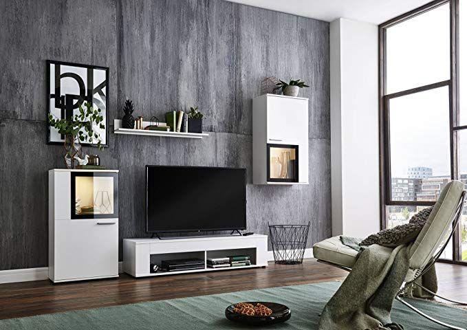 Bmg Mobel Wohnwand Schrankwand Wohnzimmerschrank Mediawand