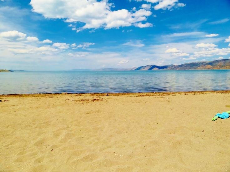 Bear Lake, Utah had great times want to go again!