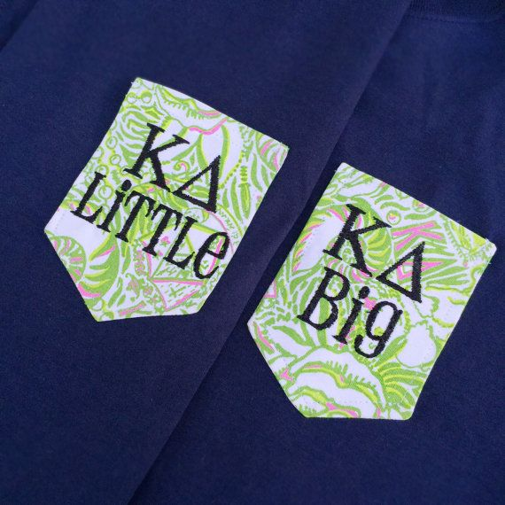 3 TEES Kappa Delta Navy Blue Tees Lilly by ShopAllieAnderson