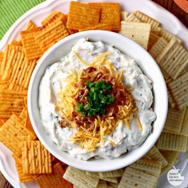 Creamy Clam Dip Clams Cream Cheese Dip Sour Cream Appetizers 2 Dip Recipes Realhousemoms In 2020 Ranch Dip Recipe Ranch Dip Dip Recipes Appetizers