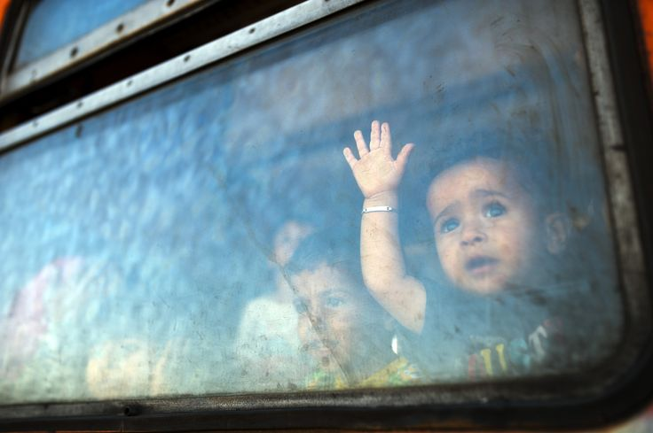 A German town has given a heart-warming welcome to Syrian refugees fleeing conflict at home