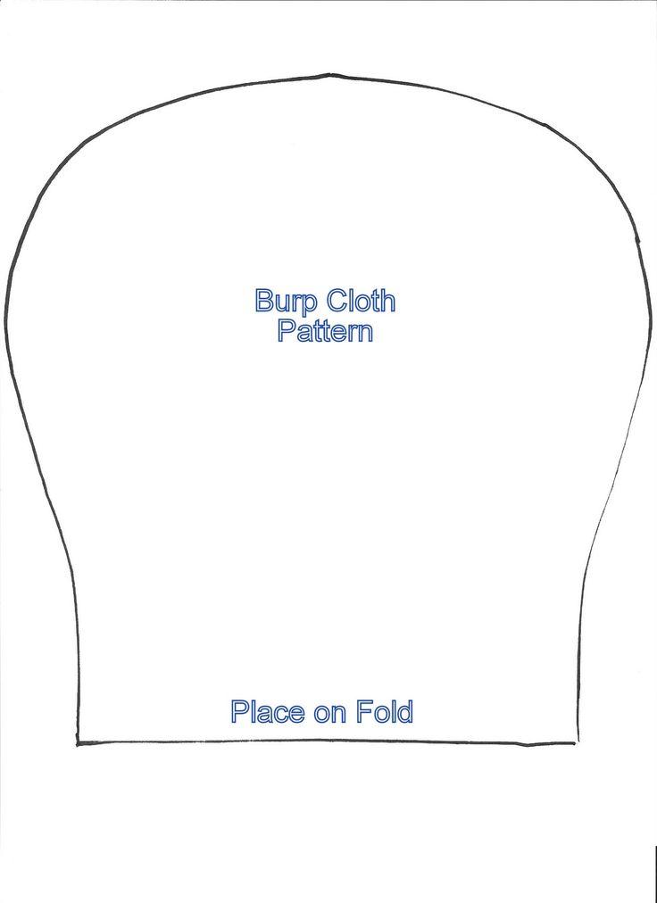 burp rag pattern free