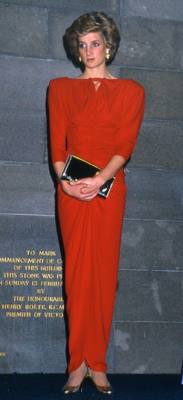 Princess Diana, she always had perfect hair didn't she?
