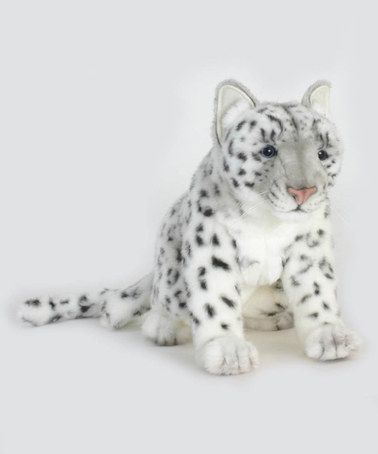 Love this Snow Leopard Collectible Plush Toy by Hansa Toys on #zulily! #zulilyfinds