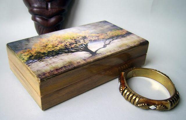 Шкатулка «Дерево памяти»