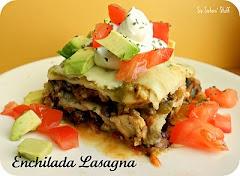 Enchilada Lasagna....This looks delicious!