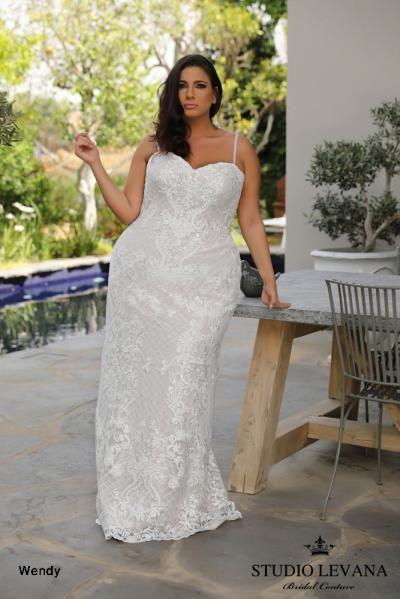 688fef0f902 Plus size wedding gowns 2018 Wendy (2)