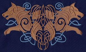 Urban Threads has SO many lovely Celtic and Viking designs! This is just one of many. Hand or machine embroidery.