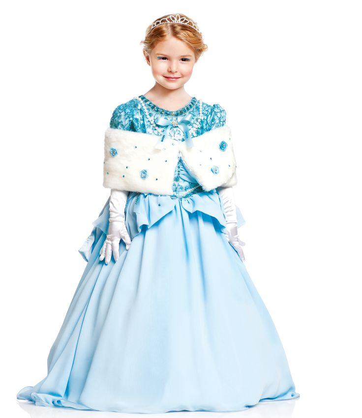 Шикарный детский костюм Золушки на девочку Deluxe: платье + корона + болеро. Цены, размеры в наличии и условия доставки доступны по ссылке — http://fas.st/PAF-x #карнавал #Золушка