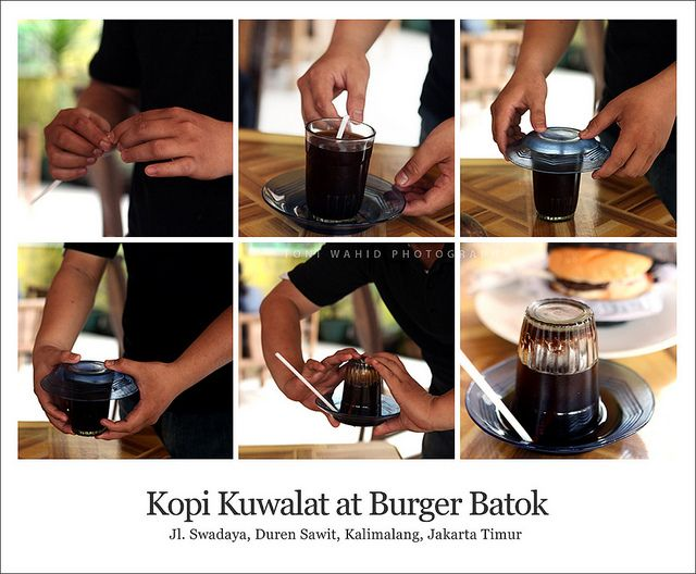 Kopi kuwalat - Gelas Kopi Indonesia - Indonesian Coffee Cup