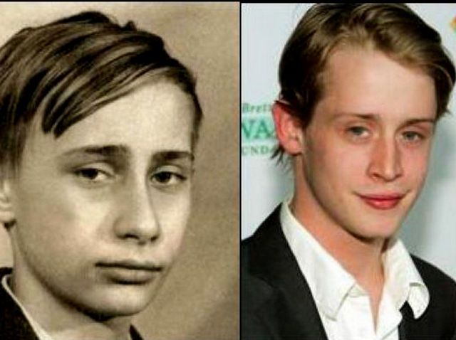 Best Celebrities With Their Past Doppelganger Images On - 24 celebrities and their incredible look alikes from past