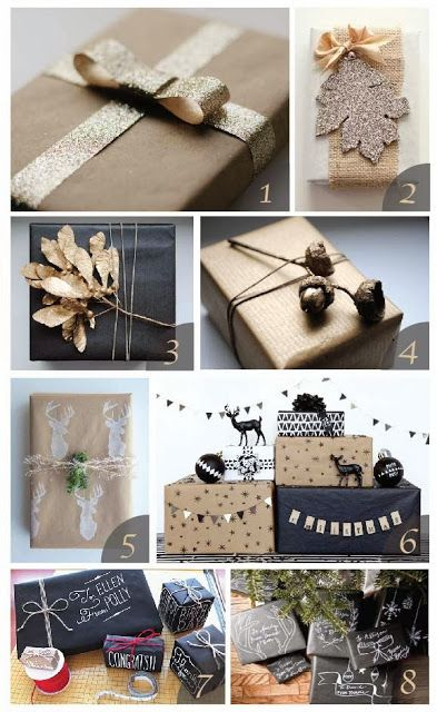 Holiday gift wrapping inspiration. #holidays