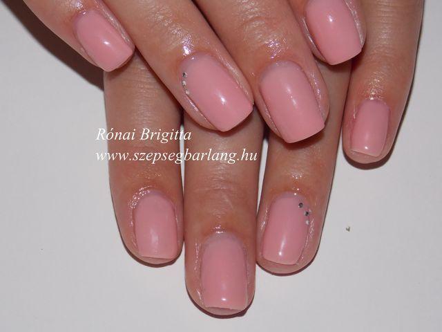 pink gél lakk