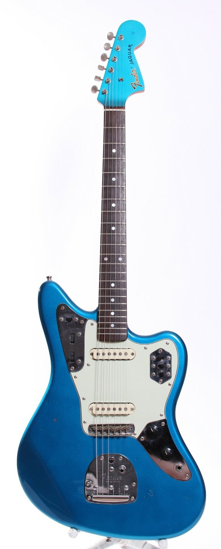 1999 Fender Japan Jaguar '66 Reissue lake placid blue via Yeahman's Vintage And Used Guitars. Click on the image to see more!