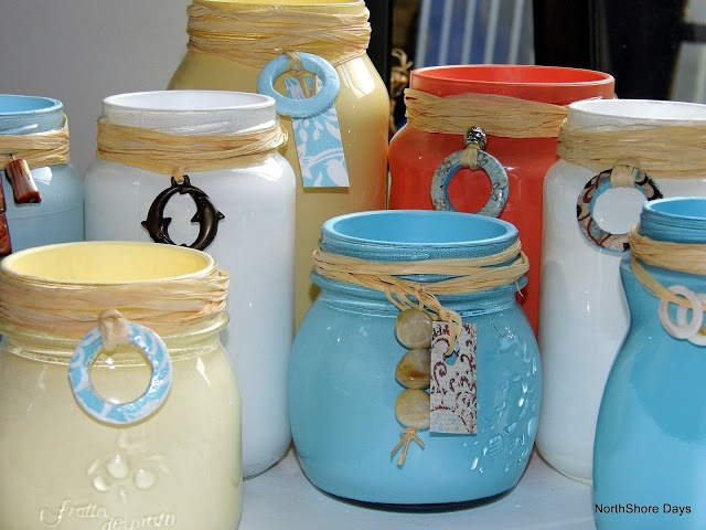 More Painted Jars... An Obsession