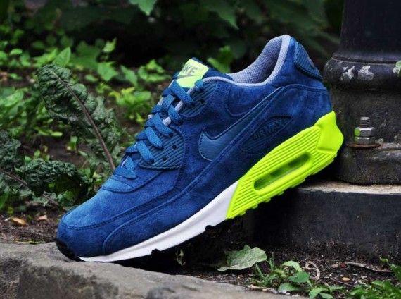 Fast Shipping Nike Air Max 2014 Cheap sale Dark Grey Blue Volt B