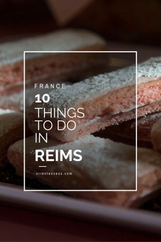 Visiting France soon? Don't miss out on the beautiful city of Reims in the North-East! Here are 10 things we think you should do when visiting the area!
