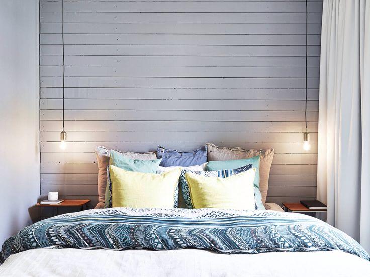 Natural master bedroom