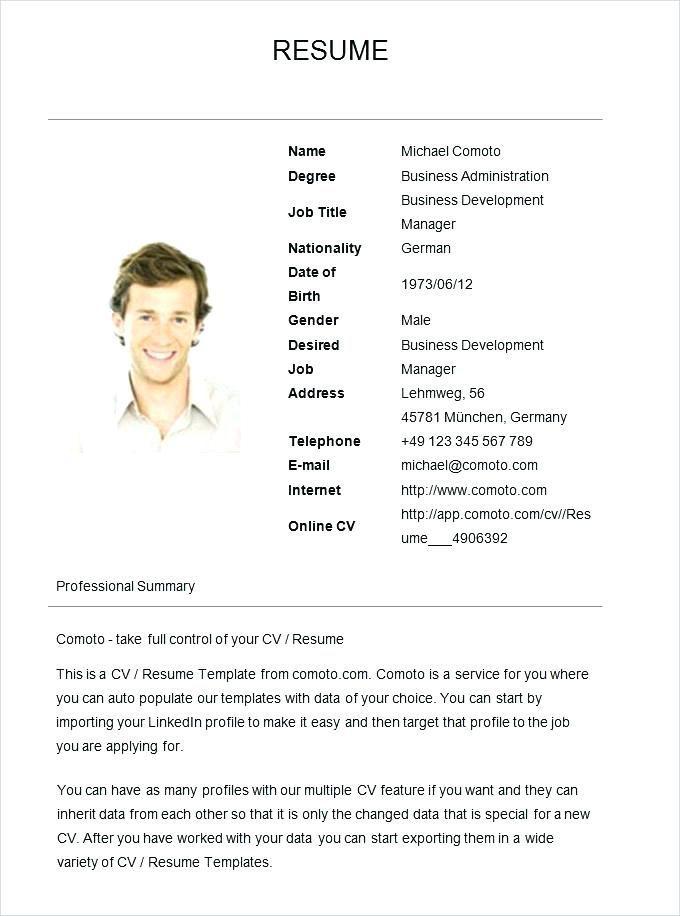 Basic Job Resume Examples Simple Resume Sample Simple Resumes Samples Simple Resume Sample Ba Job Resume Examples Resume Format Examples Simple Resume Examples