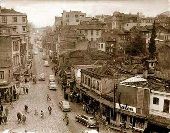 1950 lerde Kadıköy.