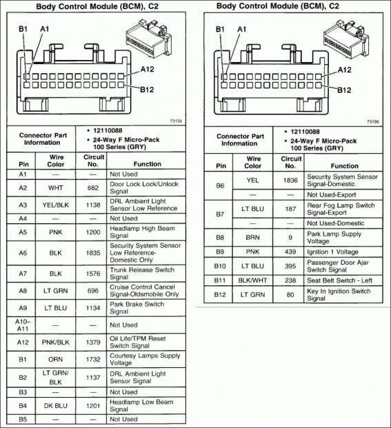12+ 2004 Pontiac Grand Am Car Stereo Wiring Diagram2004