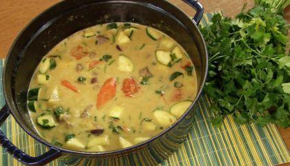 Indiase curry met lam