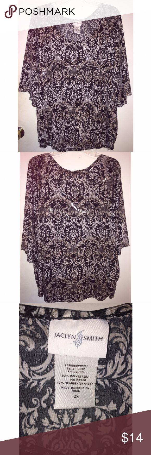 Women's Blouse Women's blouse in good condition. Size 2x Jaclyn Smith Tops Blouses