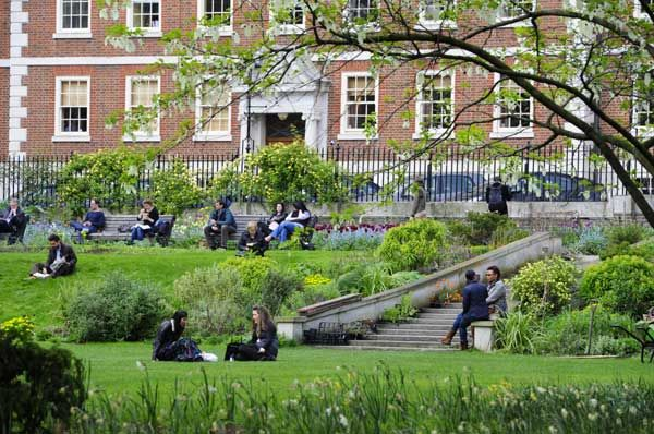 Inner Temple Garden, Sunday 10:00-14:00