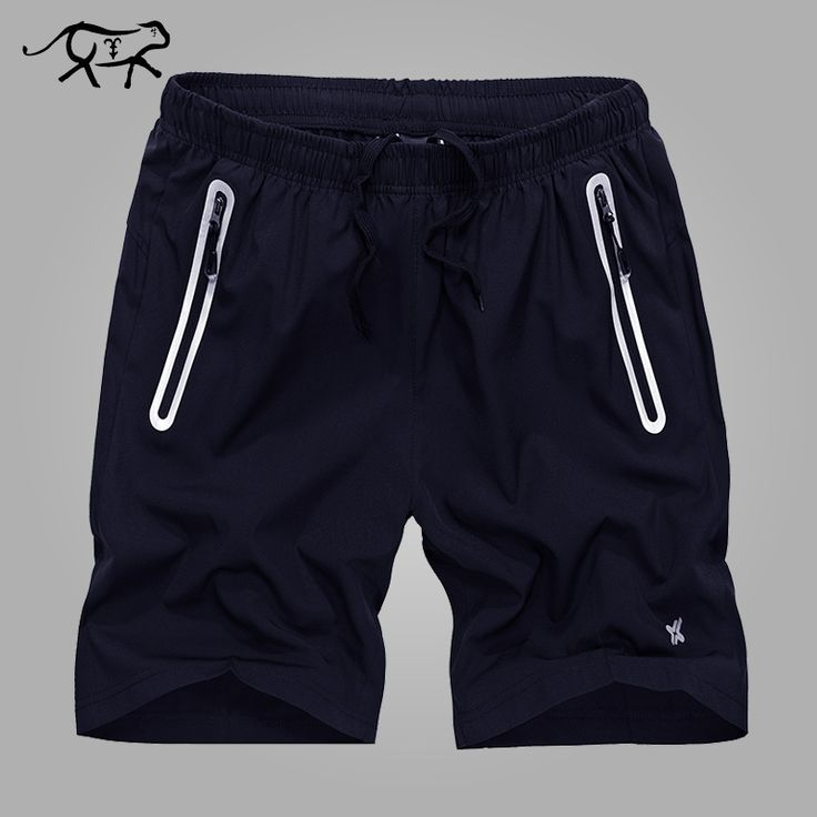 Plus la taille L ~ D'été Solide Loisirs Hommes  résistant à l'usure Shorts Casual respirant À  séchage Rapide Taille ...