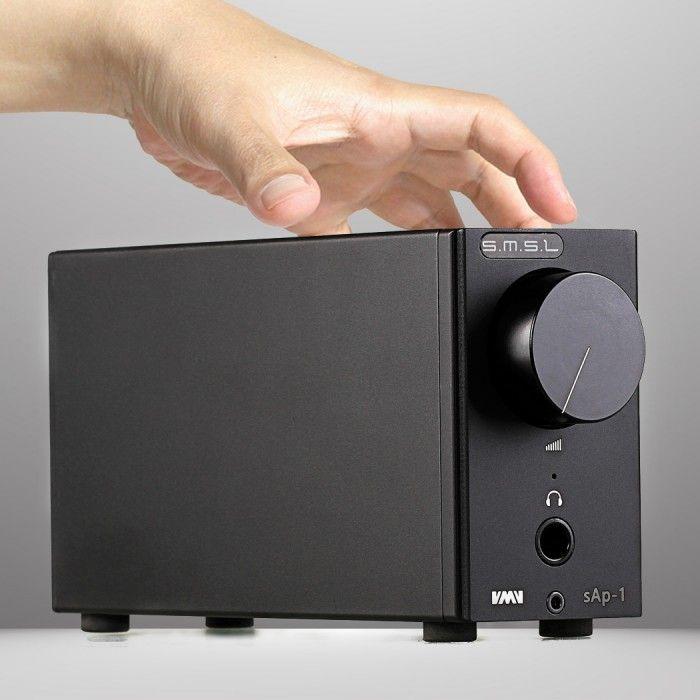 SMSL sAp-1 Amplificateur Casque stéréo TPA6120A2 270mW / 32 Ohm - L'Amplificateur #casque SMSL sAp-1 possède tous les atouts nécessaires qui en font un produit très performant et efficace. #SMSL vous offre ici un rapport prix / performance exceptionnel, et vous permet de très nombreuses agréables d'écoutes plus qu'agréables.
