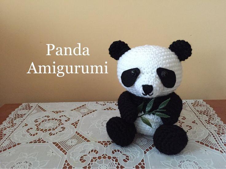 Panda Amigurumi (tutorial)