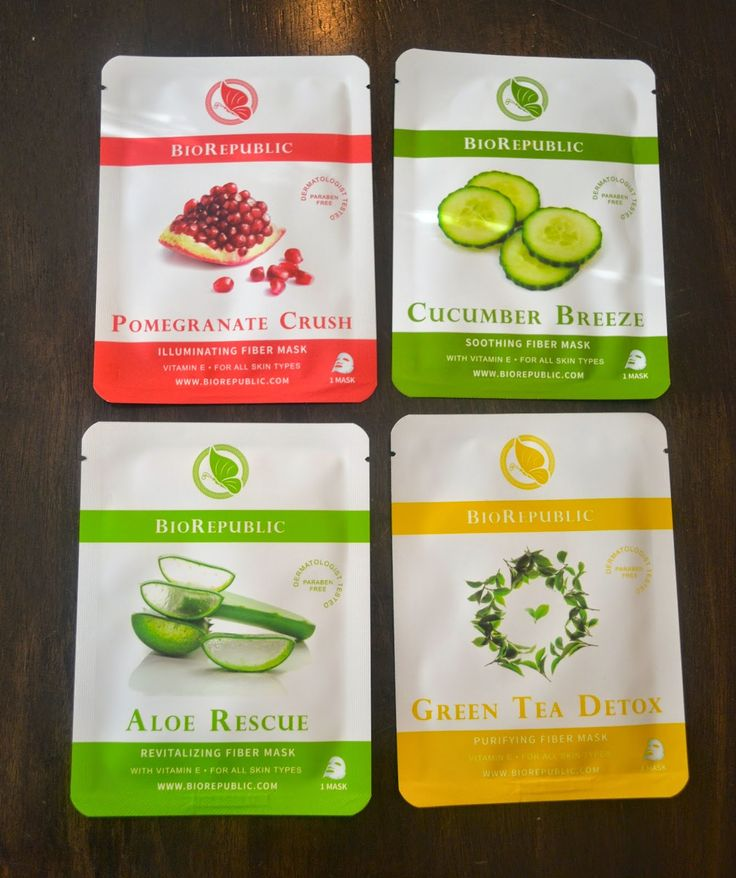 These BioRepublic biodegradable fiber sheet masks are a great and inexpensive alternative to the pricey SKII masks for your face! http://www.jennysuemakeup.com/2014/11/do-your-face-favor-with-biorepublic.html