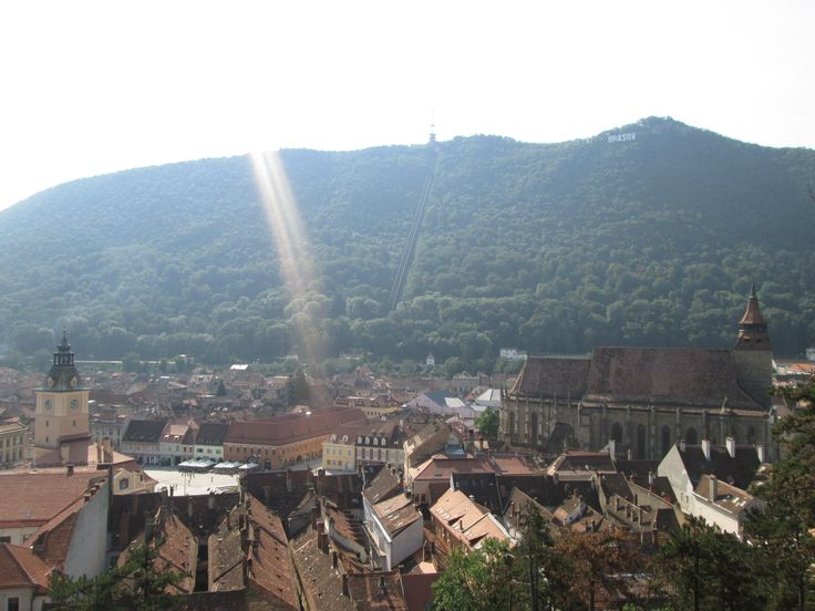 Brasov, RO (awesome view from the White Tower)