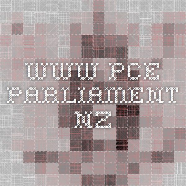 www.pce.parliament.nz