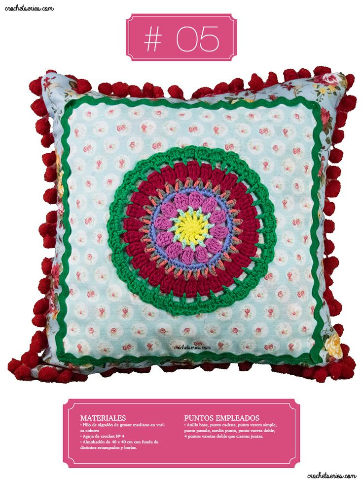 Crochet Almohadones #05