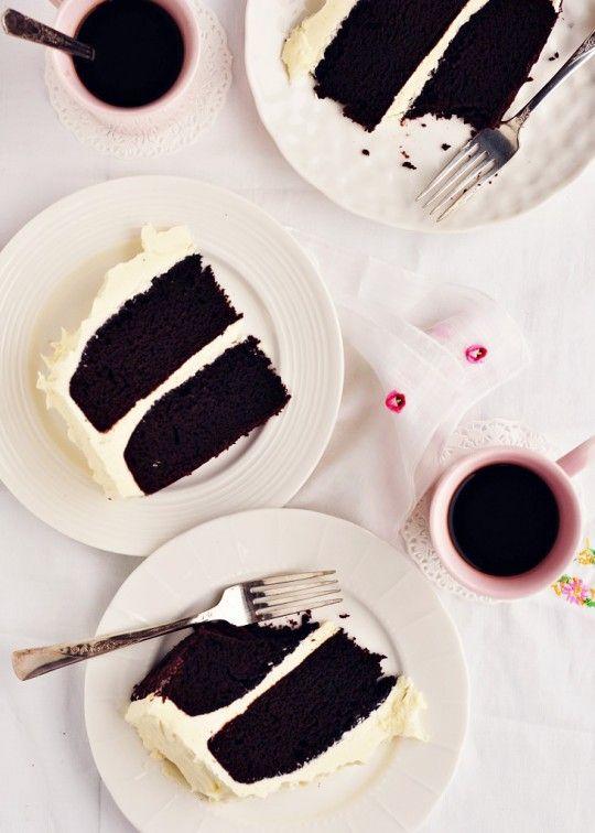 Chocolate Stout Cake via Sweetapolita