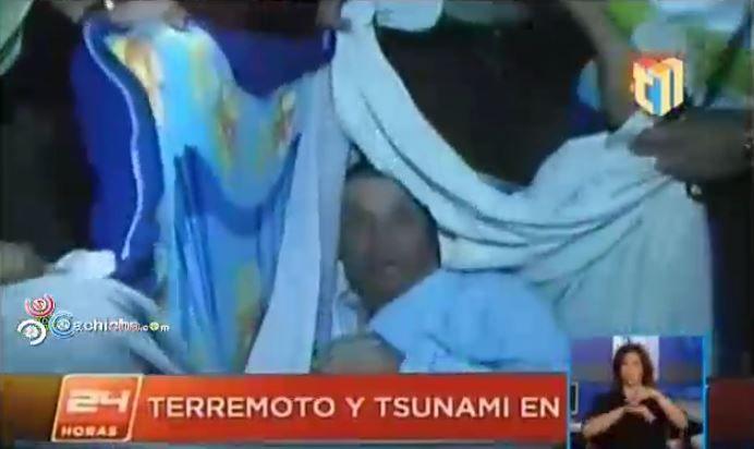 Perú Y Ecuador Emiten Alerta De Tsunami; Tras Sismo En Chile #Video