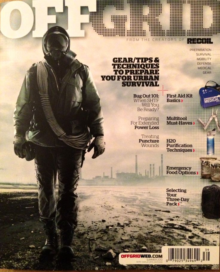New Off Grid magazine