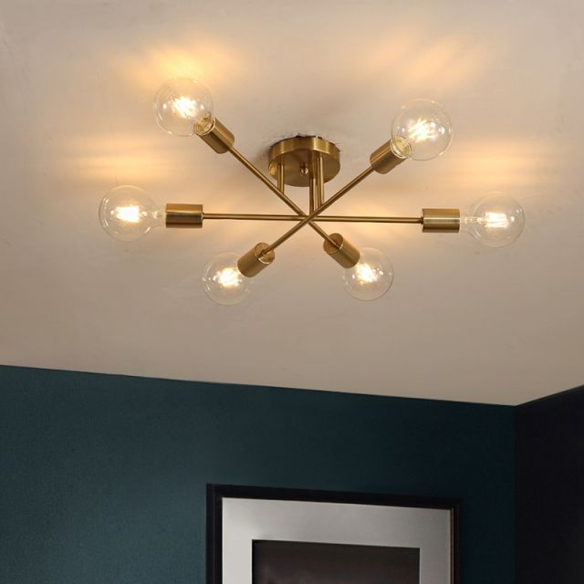 Pin On Come Decorate My House Close to ceiling lights