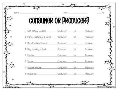 Worksheets Economics Worksheets 186 best images about economics on pinterest student producer and consumer assessment google search