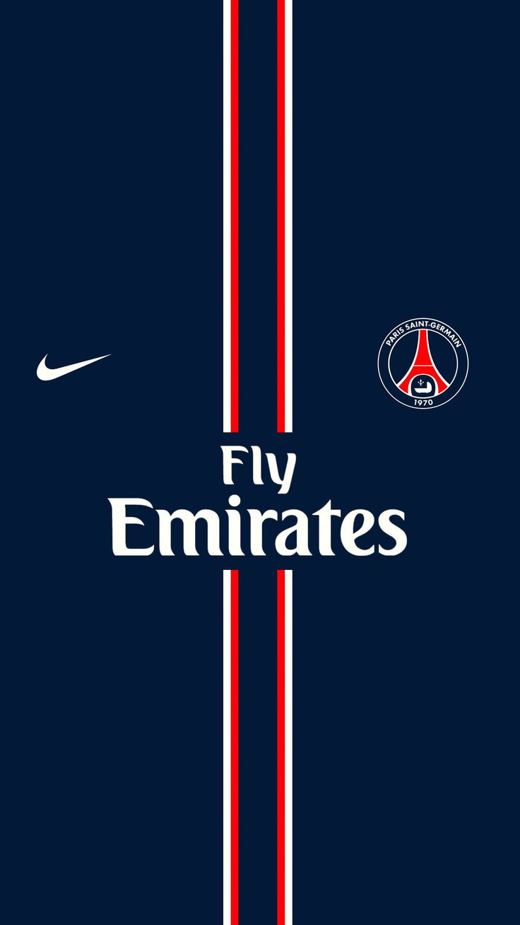 パリ・サンジェルマンiPhone壁紙 Paris Saint-Germain iPhone Wallpaper