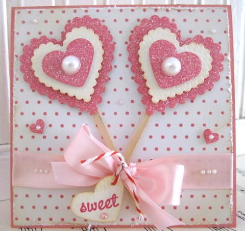 313 best Cards  Valentines images on Pinterest  Cards Ideas and